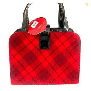SUPER CUTE RED AND BLACK argile mini bag🥰❤️🖤
